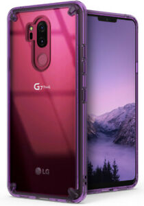 For-LG-G7-ThinQ-Ringke-FUSION-Clear-PC-Shockproof-Protective-Back-Cover-Case