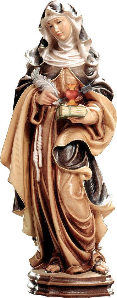 Statue santa santa santa Teresa von Jesus (Avila)- ST Therese of Avila Holz geschnitzt   Hohe Qualität Und Geringen Overhead  49884b