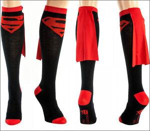 efe63dcc3 Image is loading Superman-Supergirl-DC-Comics-Costume-Long-Knee-High-