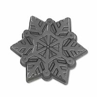Nordic Ware Snowflake Pan, New, Free Shipping on sale