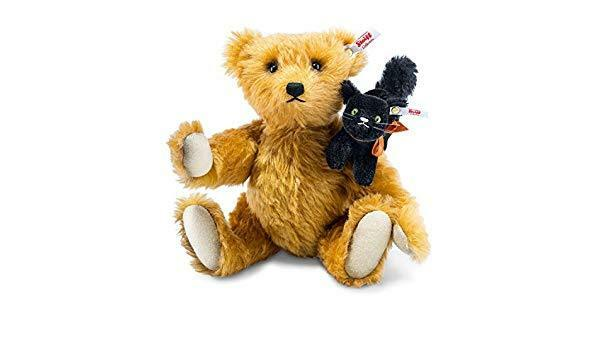 Steiff Limited Edition FRIGHT NIGHT amici Teddy Bear EAN 683220 30cm + scatola Nuovo