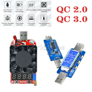 2-0-3-0-QC-DISPLAY-LCD-USB-rilevatore-USB-Elettronico-Tester-corrente-di-carico