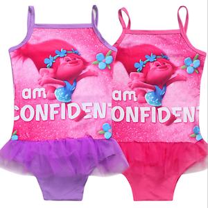 e6355c38b5 Image is loading Newest-Kids-Girls-Trolls-Poppy-Bikini-Strappy-Swimwear-