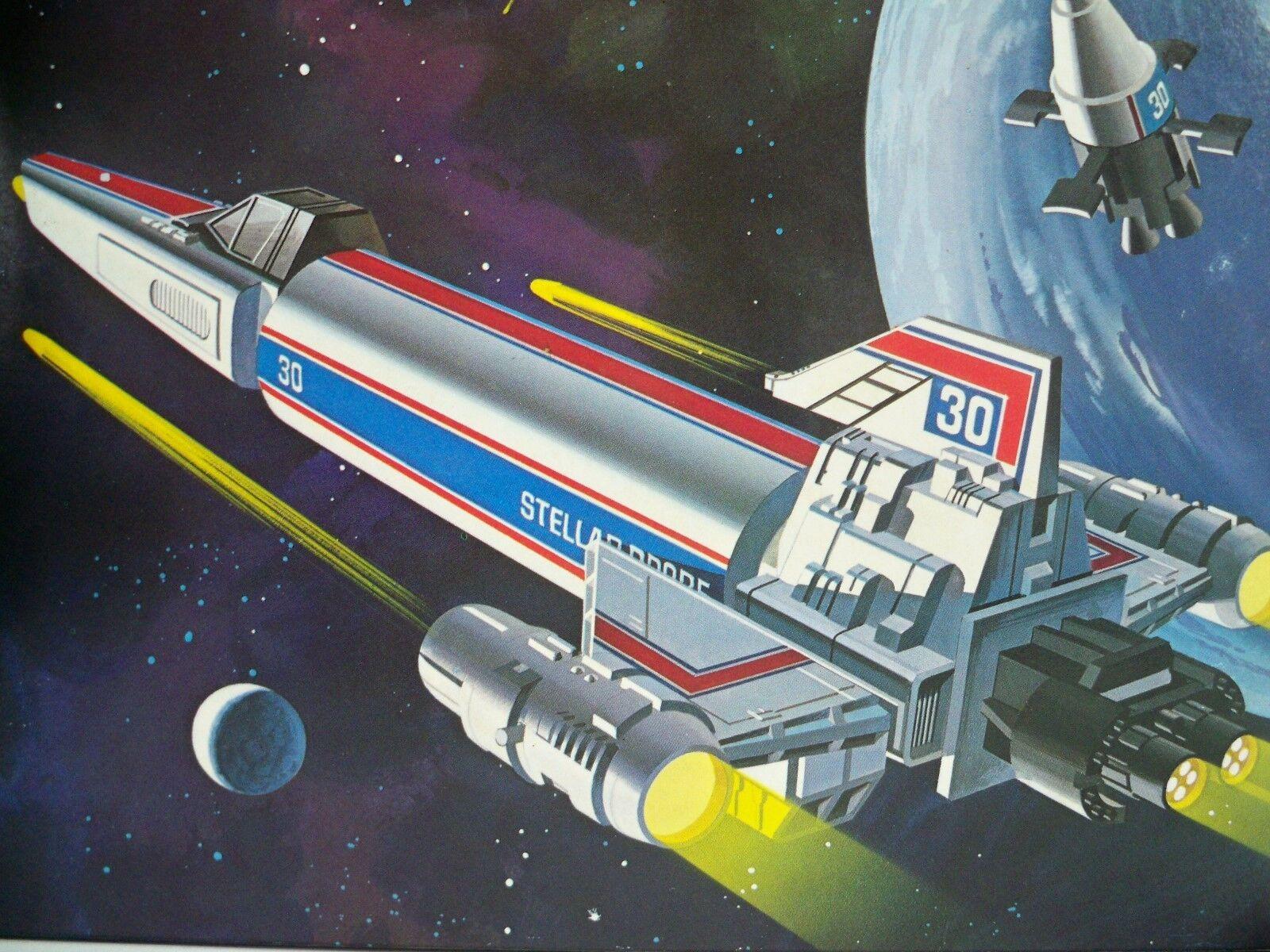 K1605751 collonial Estrella probe W   Box MIB estilo luchaEstrella Galactica terminado