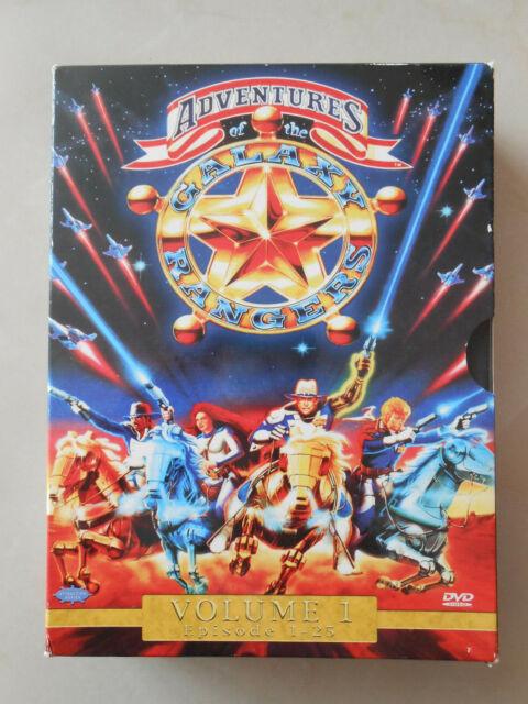 Galaxy Rangers - Adventures of the Galaxy - Volume 1 - Episode 1 - 25 DVD Serie
