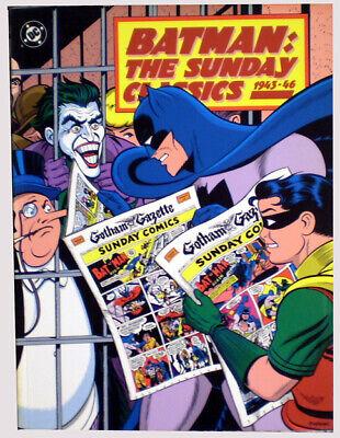 0-1 UnabhäNgig Batman The Sunday Comics 1943-1946 Dickes Sc Von 1991