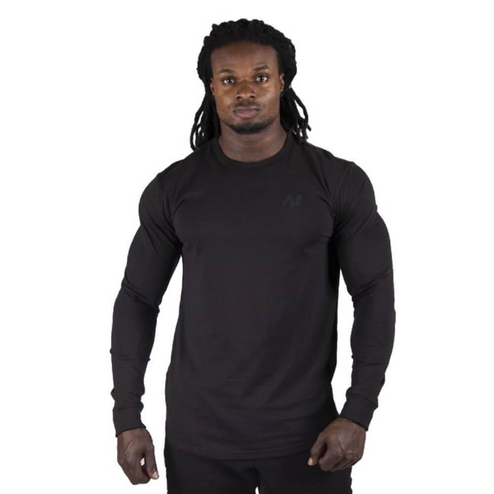 Gorilla Wear Williams à Manches Longues schwarz