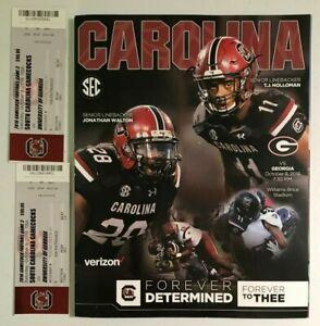 2016 South Carolina Gamecocks vs Georgia Bulldogs Football ...