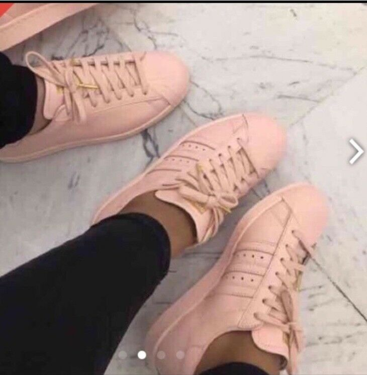 Open Pink to offers Adidas Pink Open Superstar Original Woman's 8.5 Mens 7 (Customized) 49fec1
