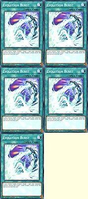Near Mint 3 x Evolution Burst 1st Edition SDCR-EN020 - Common