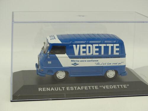 Ixo Presse 1//43 Renault Estafette Vedette