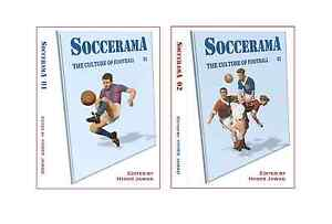 SOCCERAMA books: No. 1 & 2: 672 pages in total: Culture of Football: Hyder Jawad