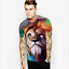 Summer-Mens-3D-Print-Short-Sleeve-Casual-Slim-Fit-T-Shirts-Graphic-Tee-Shirt-NEW thumbnail 17