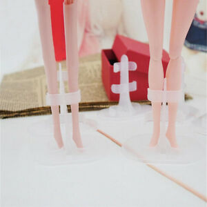 10pcs-lot-Doll-Accessories-Doll-Support-Leg-Holders-Transparent-AuPT