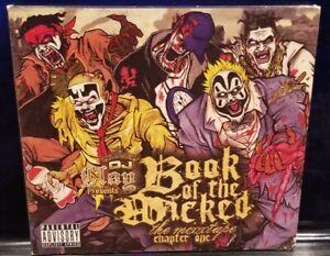 DJ Clay - Book of the Wicked Chapter 1 CD  insane clown posse twiztid boondox