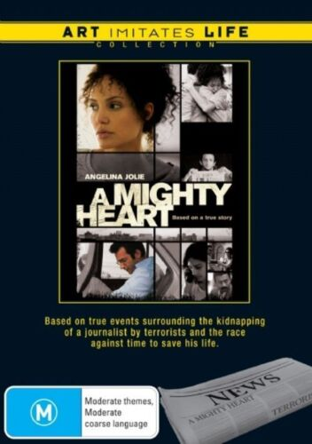 1 of 1 - A Mighty Heart - Art Imitates Life - DVD BRAND NEW STILL SEALED FREE POST AUS R4