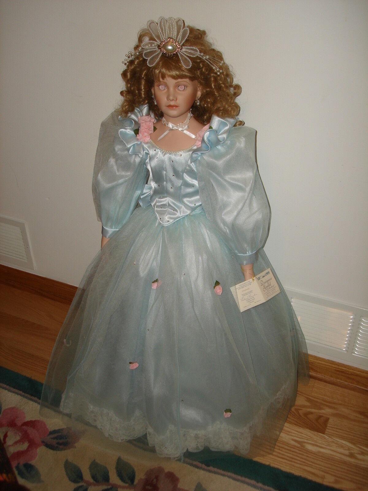 1994 296 2000 Thelma Resch Cenicienta exclusivo de porcelana muñeca de colección 35
