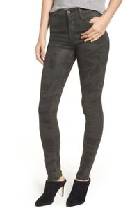NEW-CITIZENS-OF-HUMANITY-Women-s-ROCKET-CAMO-HIGH-RISE-SKINNY-JEANS-SZ-27-USA