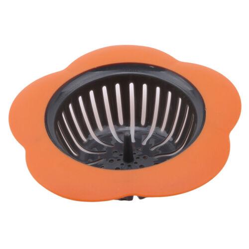Kitchen Waste Stainless Steel Sink Strainer Plug Drain Filter Basket Drainer SJ