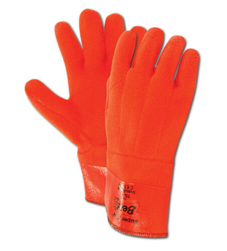 12 Pack Showa Best Chemical Resistant Insulated PVC Coated Gloves