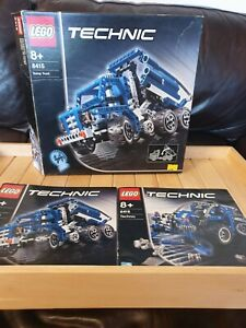 LEGO-TECHNIC-8415-Camion-Benne-serie-complete-2005-interrompu-Line-RARE