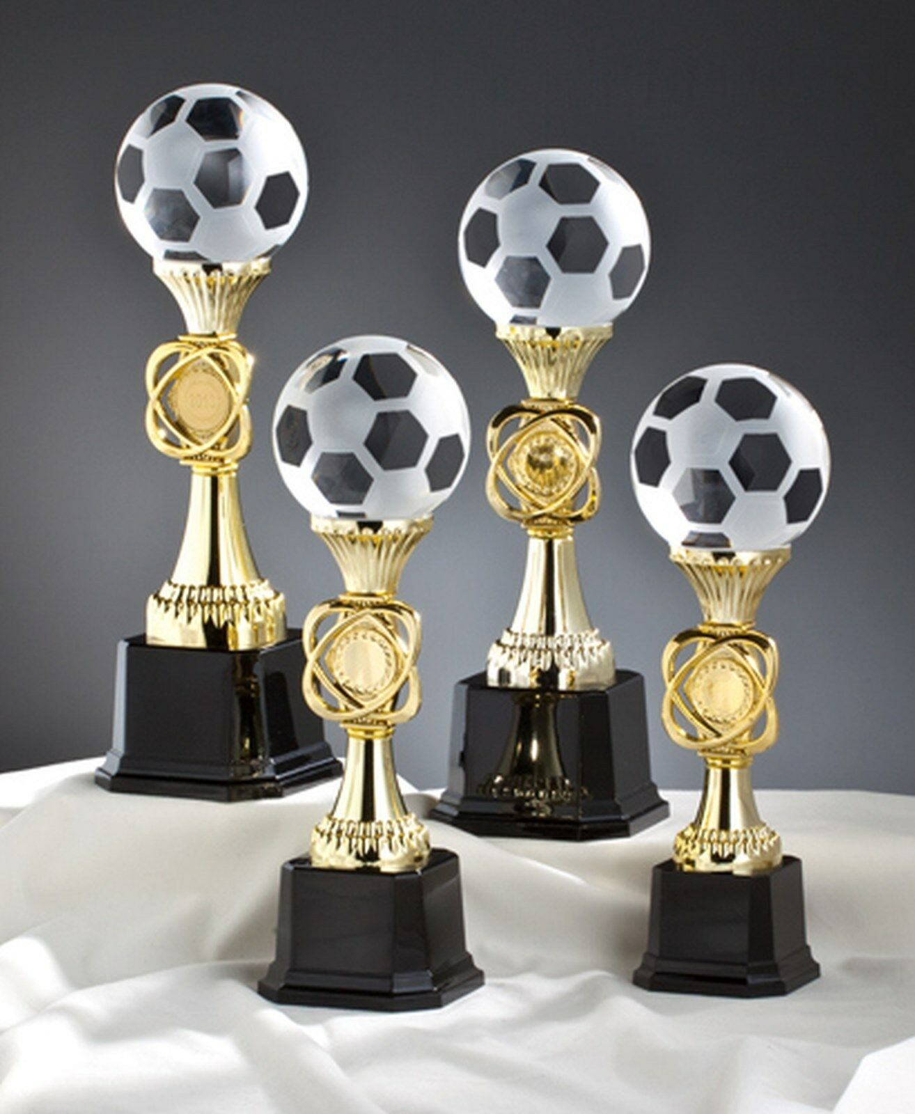 1 Glaspokal Fußball Noblesseglas 26cm 26cm 26cm mit Gravur  2 (Glaspokal Sieger) b32f26