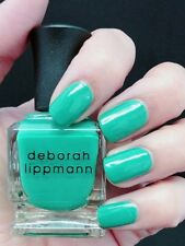 NEW! Deborah Lippmann SHE DRIVES ME CRAZY Polish Lacquer Full size Green