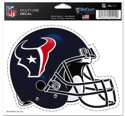 "Wincraft Houston Texans 5"" X 6"" Multi-use Decal Convenience Goods Fan Apparel & Souvenirs"