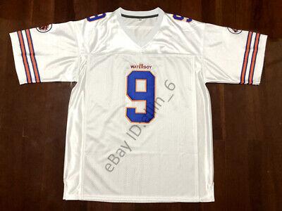 Bobby Boucher #9 The Waterboy Football Jersey Adam Sandler S M L XL 2X