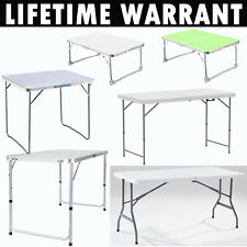 3 X Bica Low Folding Steel Frame Multi Pirpose Camping Table White For Sale Online Ebay