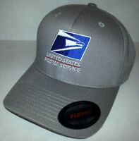 Flexfit Embroidered Flexfit Baseball Hat Yupoong / Gray / Usps1 S/m Or L/xl