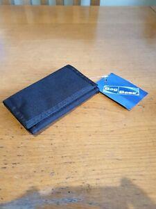 Plain black Ripper Wallet Money Purse Zip Pocket Card Holder UK SELLER,