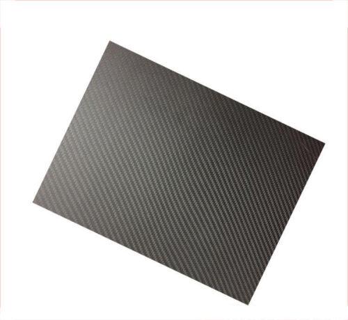 Durable 400*500mm 100/% Carbon Fiber Plate Panel Sheet 3K Plain Weave Glossy UK