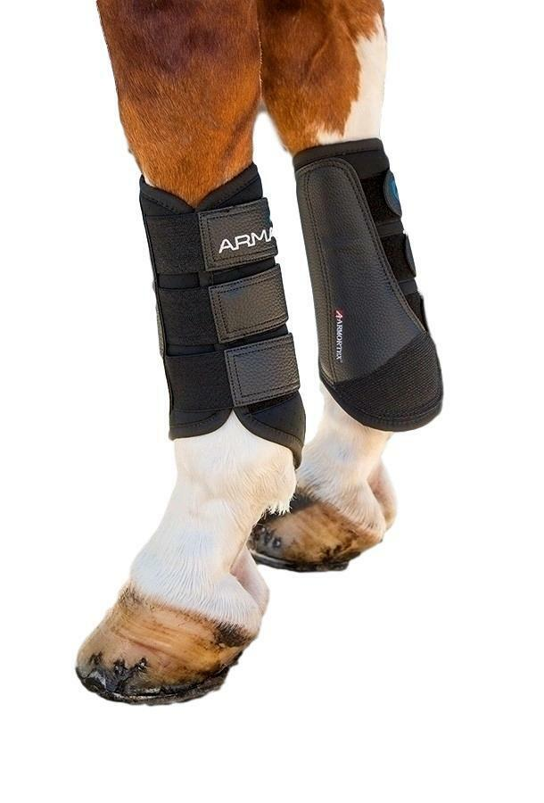 Shires equestre Arma Brushing stivali for cavallos Breathable Cooling