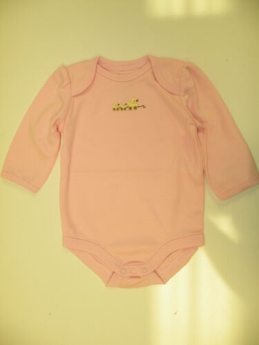 GYMBOREE BRAND NEW BABY PINK w// DUCKLINGS BODYSUIT 3 6 12 18 24 NWT