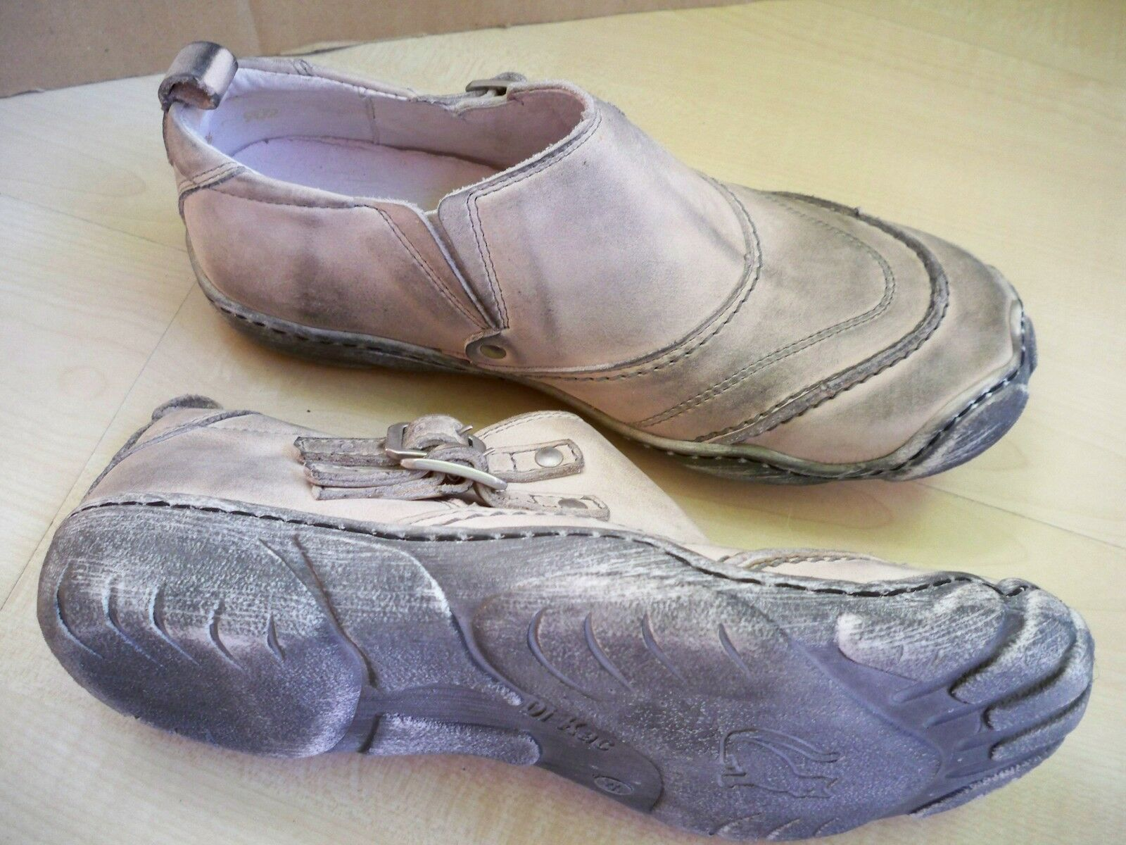 Kacper Schuhe Leder-Halbschuh Slipper 36/2223 mit herausnehmbarer Decksohle