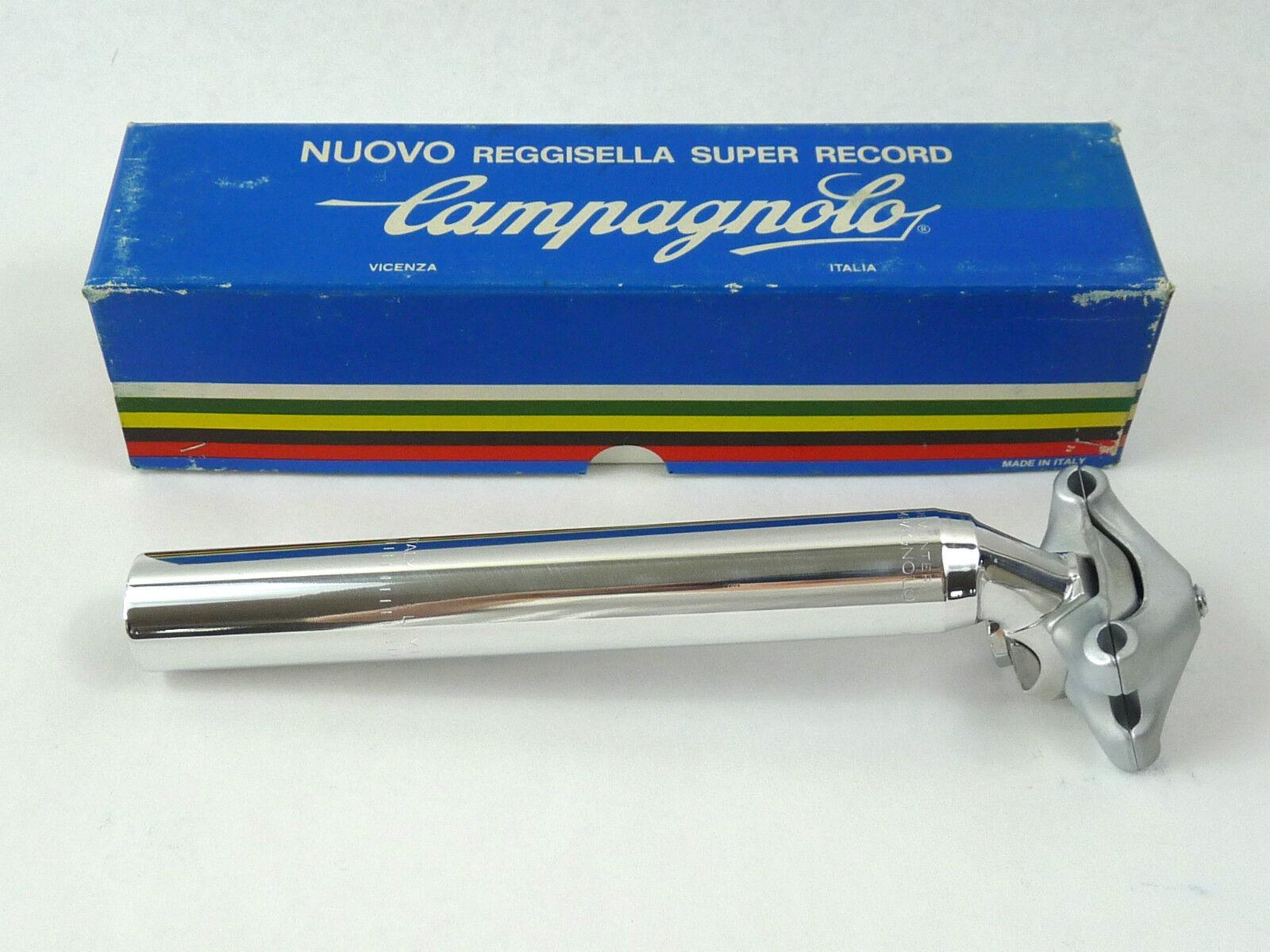 Campagnolo Super Record seatpost 26.6 Vintage Road Racing Bicycle 26.6 New NOS