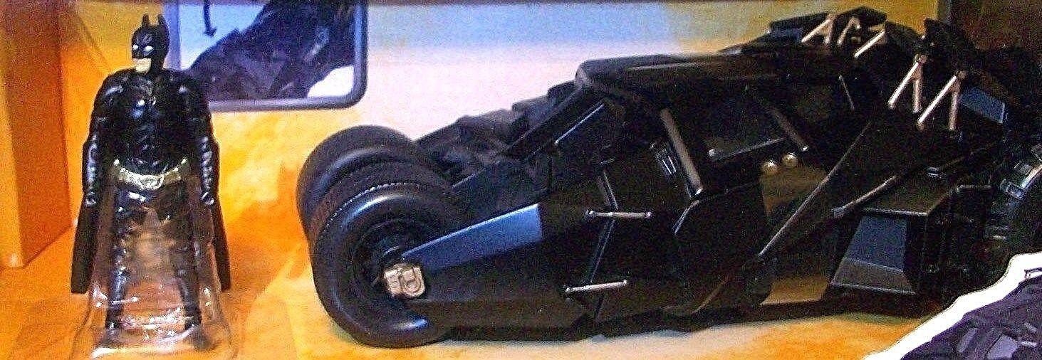 BATMAN The DARK KNIGHT BATMOBILE w w w Action Figure DC Comics Die Cast Metal Car d6922d