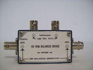 HP-3586-124-OHm-Balanced-Bridge-10-97-Fc