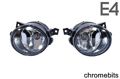 E4 Vw Up 2011 Clear Fog Lights Lamps Pair For Vw Amarok 2010 Vw Scirocco 2008