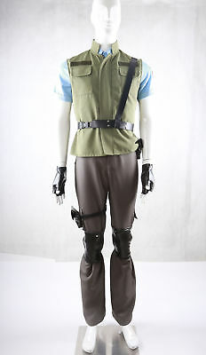 Resident Evil 1 Chris Redfield S T A R S Uniform Cosplay Costume Y 1058 Ebay