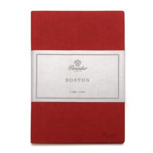 Taccuino Notes Pineider Boston 14.5X21 cm Corsa Red 099104 369