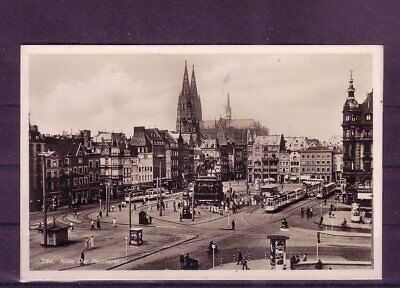 europa:11373 Letzter Stil heumarkt- Gelaufene Ansichtskarte Köln