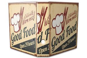 Archivador A4 Carpeta 2 anillas 60mm impreso Buena comida