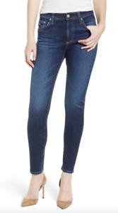 Adriano goldschmied Womens The Farrah Ankle Skinny Jeans Sz 26R 10401