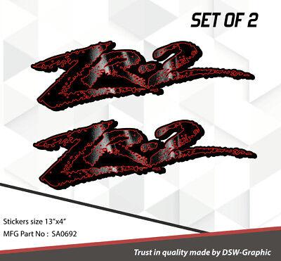 *NEW* 4X4 OFFROAD DECAL STICKER  EXTREME  S10 GMC Sonoma ZR-2 ZR2 731