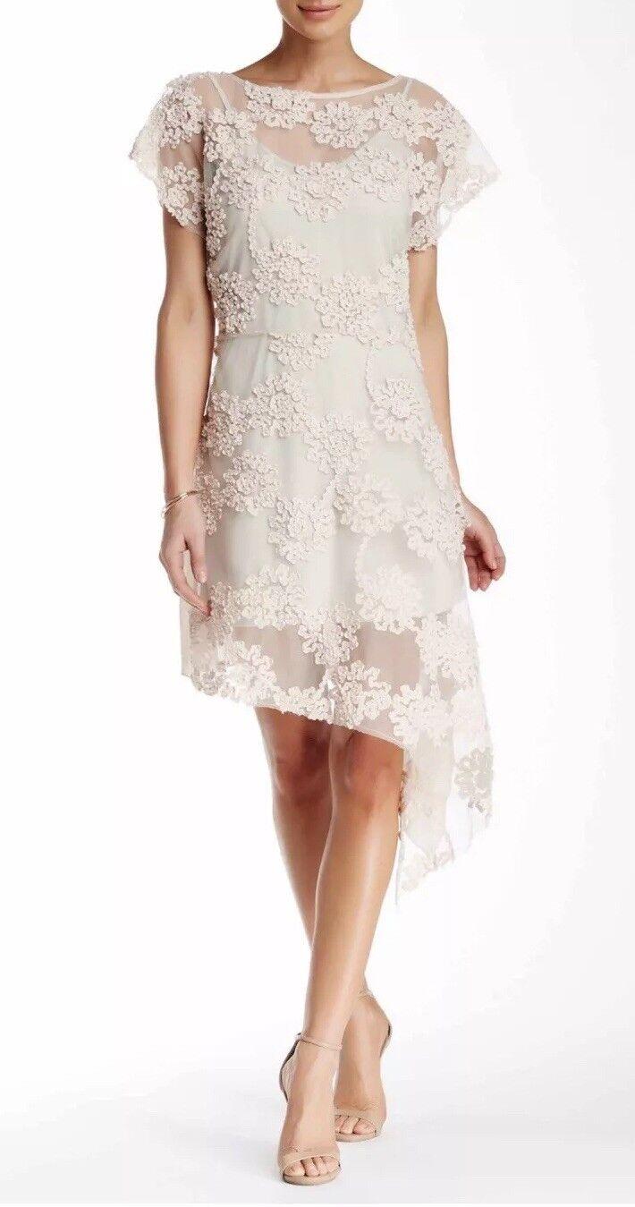 NWT Aratta Felice Two Piece Dress Medium Ivory STUNNING