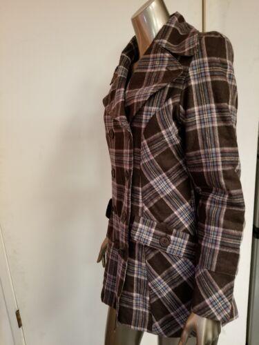 Nouveau en Manteau brun Lucy laine 4 Lucy 3 PqSrZwP