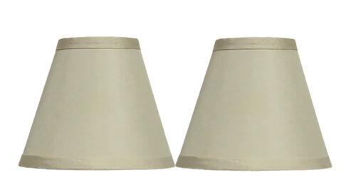 "Urbanest Satin Chandelier Lamp Shade 3x6x5/"""