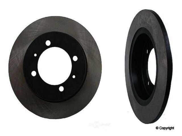 Ceramic Brake Pads Fits 2000-2004 Volvo S40 V40 Rear Drill Slot Brake Rotors